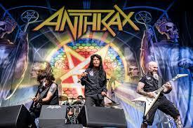 Anthrax, uma das bandas do Big Four, grupo de bandas do Thrash Metal
