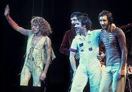 Integrantes do The Who, uma das primeiras bandas de Classic Rock